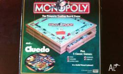 Monopoly, Cluedo, plus 5 other classic games; nicely