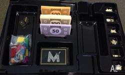 brand new Monopoly: Empire set, only used once.