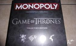 monopoly game of thrones collectors edition brand new