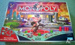 Monopoly Here & Now Australian Edition - As New - Metal