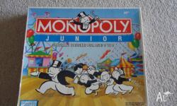 Monopoly Junior In great used Condition Pick up from