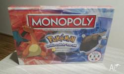 Monopoly Pokemon Kanto Edition Partner with Pikachu and