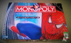 Monopoly Spiderman Board Game - Parker Bros 2006