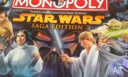 Selling monopoly Star Wars saga edition. $10 pick up