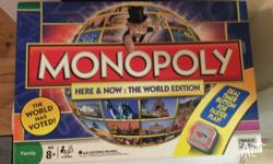 I am selling the board game Monopoly World Edition with