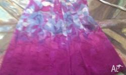 beautiful monsoon party dress worn once.silk with