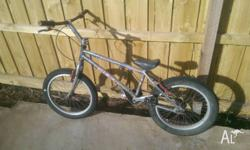 "20"" wheels Great bike to learn trials, The bike is a"