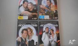 Moonlighting Seasons 1-5 DVDs. These DVD's have been