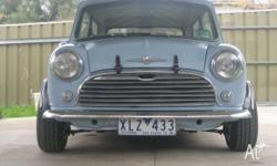 Morris mini deluxe 66 completly rebuit for quick road