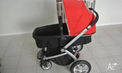Iam selling my used but in good condition 4 wheel pram