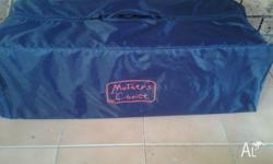 Mother Choice portacot. Great used condition. Navy blue