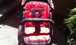 selling this pram in a very good condition. used for