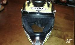 Selling my hardly used, in very good condition helmet.