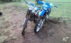HONDA XL SOLD YAMAHA MOTO YZ 250CC LOOK A LIKE,, MOTOR