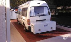 1996 Toyota commuter bus 239.00 km, fit out as motor