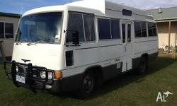 1977 Toyota Coaster Motor home Mechanically sound and