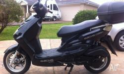 For sale is a Sachs Dash 2008 black 150CC motor