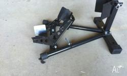Front wheel motorbike stand in excellent condition,