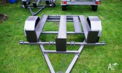 MOTORBIKE X3 HEAVY DUTY TRAILER EXTENED DRAW BAR, 2011,