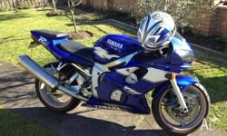 Up for sale is my R6, 1999 model. Very good condition