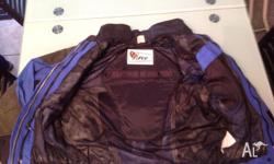 Lightweight Motorcycle jacket for sale. Size Extra