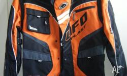 Motorcycle jacket (XL) Brand: UFO Plast Worn once.