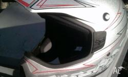 Fox racing motocross helmet. Limited edition. Excellent