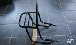 Motorcycle rear luggage/cargo/gear rack in good
