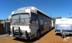 1979 Denning Mono MotorHome, fully converted, has solar