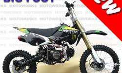 MOTOWORKS BIGFOOT 150cc OIL COOLED MOTOR TRAIL DIRT PIT