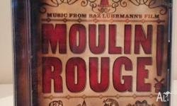 Moulin Rouge Soundtrack Good condition Barely used.
