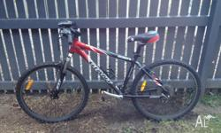 Giant brand mountain bike, good condition, no longer