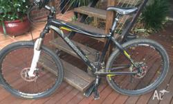 "Up for sale is a 'Diamondback"" mountain bike. It has"
