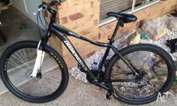 Diamondback overdrive 29er large frame new tyres new