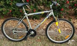 "26"" Huffy Realm Mountain Bike with Aluminium Frame. 18"