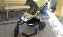 Mountain Buggy - 3 wheeler, quality design Comes with