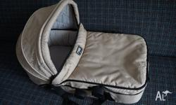 Almost new Mountain Buggy Urban Carrycot (RRP $189.00),