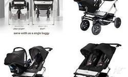 For Sale: Practically new condition Mountain Buggy Duet