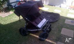Sturdy, reliable pram. Good condition -usual wear and