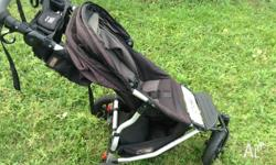 Used Flint coloured Mountain Buggy Swift No longer