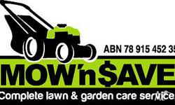 - Residential & Commercial lawn and garden maintenance