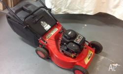 Rover mower 148cc near new a1 condition $150 starts