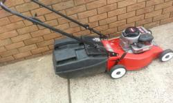 Mower,rover with catcher very good condition start