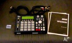 MPC -1000 COMPLETE WITH MANUALS MEMORY CARD - LEADS -