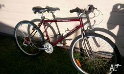 Nice older bike full cromo frame very lit .has new back