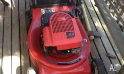 "MTD COMMERCIAL 21"" cut lawn mower heavy duty runs"