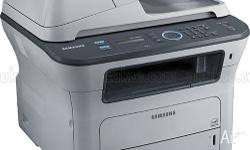 Print, copy, scan, fax and PC-fax with built in duplex