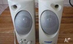 Amplified Comet Multimedia Speaker Set only $ 7.- Also
