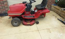 murray ride on lawn mower chassis ONLY WITH. NO DIFF,