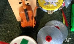 Musical Toys *Electronic Violin *Tambourine *Electric